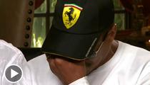 Marlon Jackson Breaks Down in Interview, Walks Off [VIDEO]