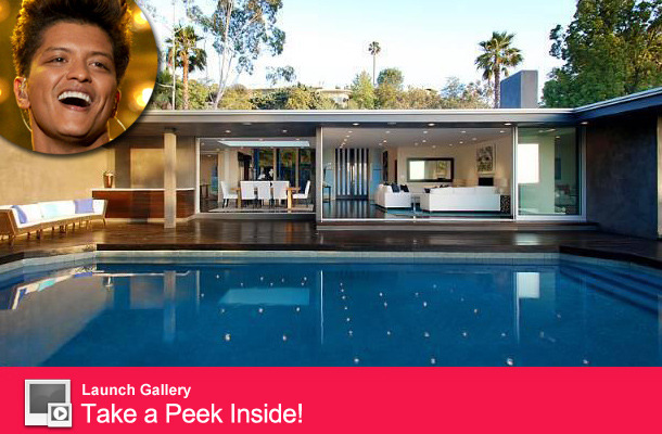 Bruno Mars Reportedly Buys $3.3 Million Bachelor Pad