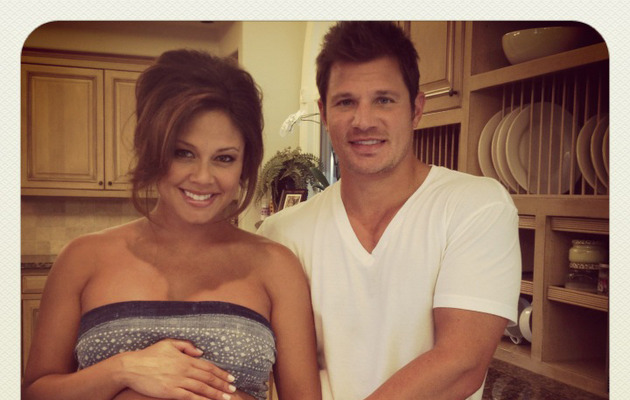 Vanessa Minnillo Shows Off Massive Baby Bump!