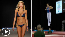 Kate Upton -- A Lock for Olympic Gold ... in Trampolining