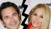 'Real Housewives' Star Adrienne Maloof -- Husband Filing For Legal Separation