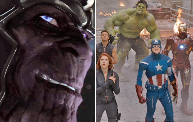 "Video: Watch Credits Scene with Thanos from ""The Avengers"""