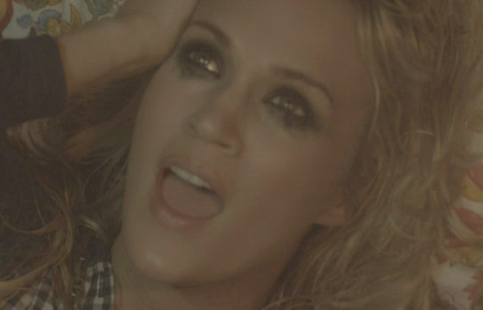 "Carrie Underwood's Dark ""Blown Away"" Music Video"