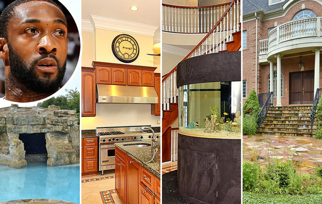 Gilbert Arenas Selling His Arena-Sized Mansion!