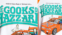 Skateboard Company -- Backlash Over Asian Slur T-Shirt ... 'G**ks of Hazzard'