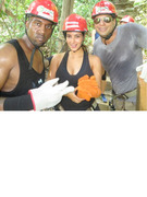 Photos: Kim Kardashian &amp; Kanye West Vacation with Joe Francis