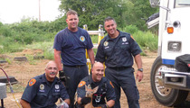 ADORABLE -- Cops Rescue Baby Deer from NY Manhole