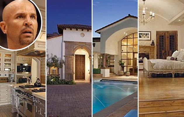 Jason Kidd Lists Swanky Arizona Abode!