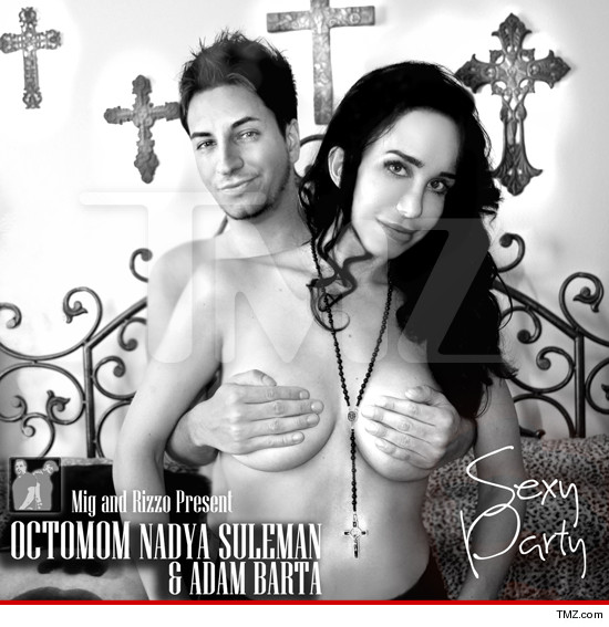Octomom album cover channels Madonna's 'Like A Virgin' style, Suleman says ...
