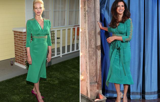 Dueling Dresses: Ellen Barkin vs. Penelope Cruz!