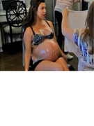 Video: Pregnant Kourtney Kardashian Strips Down!