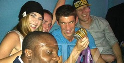 Michael Phelps -- I Partied with My Other Medals Too!