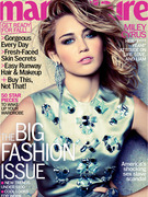 Miley Cyrus Stuns In Marie Claire, Talks Liam Hemsworth Engagement!