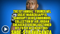 Warren Sapp -- Forced to Sell His Soles