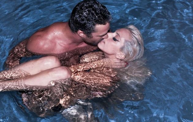 Lady Gaga Shares Steamy Pic with Boyfriend Taylor Kinney