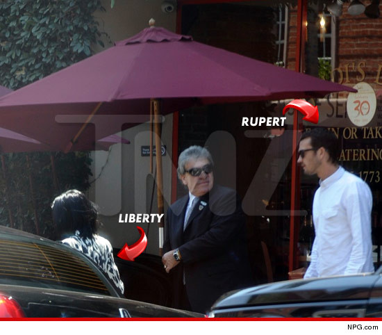 Rupert Sanders and Liberty Ross reunited.