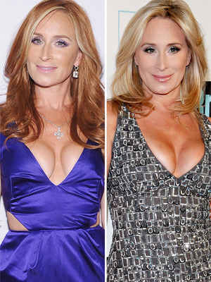 """Real Housewives"" Star Becomes a Redhead!"