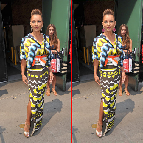 Can you spot the THREE differences in the Vanessa Williams picture?