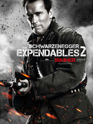 &quot;Expendables 2&quot; Clip -- Arnold &amp; Bruce In Action!