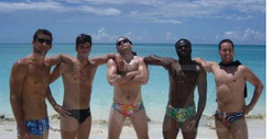 Michael Phelps Vacation Photos