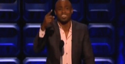 Wayne Brady -- BOOED for Trig Palin Joke at Roseanne Roast