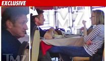 Sean Penn & Scarlett Johansson -- The Lunch Date