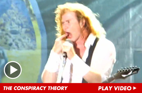 > Aug 17 - Megadeth Singer Accuses Obama Of Staging Batman Theater Shooting - Photo posted in BX Daily Bugle - news and headlines | Sign in and leave a comment below!