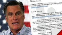 Mitt Romney -- Accused of Hijacking Campaign Tune from Rockers Silversun Pickups