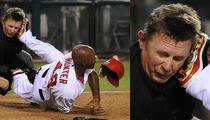 MLB Umpire Greg Gibson -- Torii Hunter Broke My Nose ... But I Forgive Him