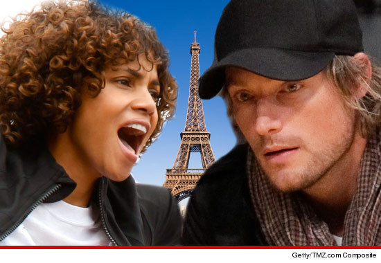 "Halle Berry is locked in a bitter custody trial with baby daddy Gabriel Aubry. Halle is asking the judge to let her move to Paris with Nahla, and Gabriel is saying, ""Over my dead body."" So we gotta a"