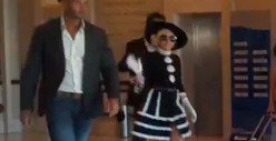 Lady Gaga's Bodyguard -- FEROCIOUS Takedown in Romania