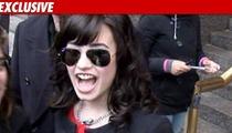 Demi Lovato Scores Christmas Pass