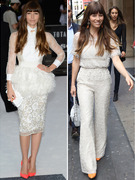 Jessica Biel Goes On White Lace Craze Ahead Of Wedding