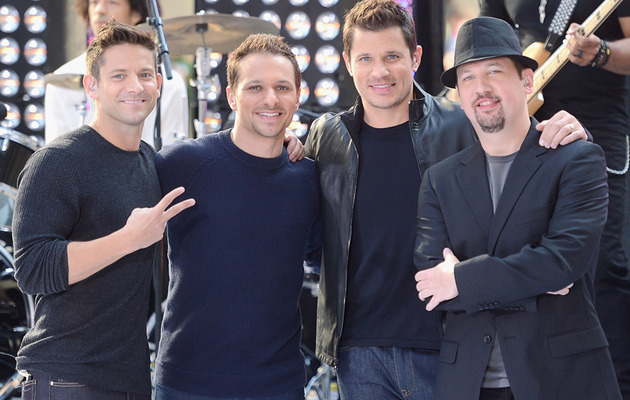 """98 Degrees Reunites on """"Today"""" -- See the Performances!"""