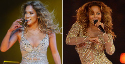 Nude Bodysuit Battle: J.Lo vs. Mel B -- Who&#039;d You Rather?