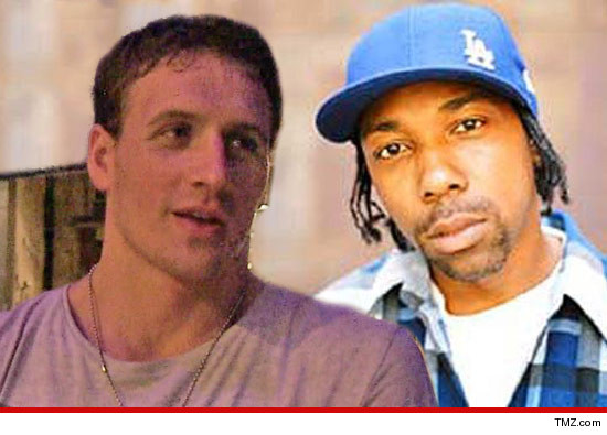 0817 ryan lochte mc eiht 2 Ryan Lochte    Jeah! Copyright Battle Looming with Compton Rapper