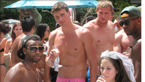 Ryan Lochte -- Pretty in Pink
