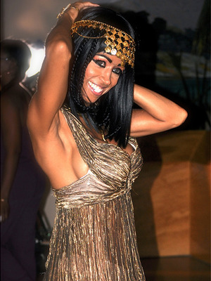 "Exclusive: ""Clueless"" Star Stacey Dash Channels Cleopatra in Music Video"