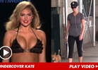 Kate Upton -- Supermodel Busted Going Undercover