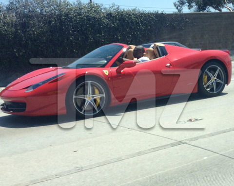 > Kobe Bryant On His Boss S@&# In The Red Ferrari 458 Italia LA (pics) 8.22.2012 - Photo posted in BX SportsCenter | Sign in and leave a comment below!