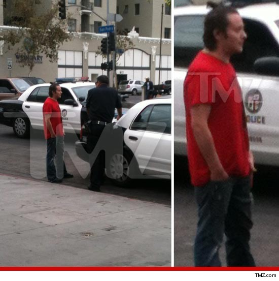 Edward Furlong was ROBBED on the streets of LA this morning.