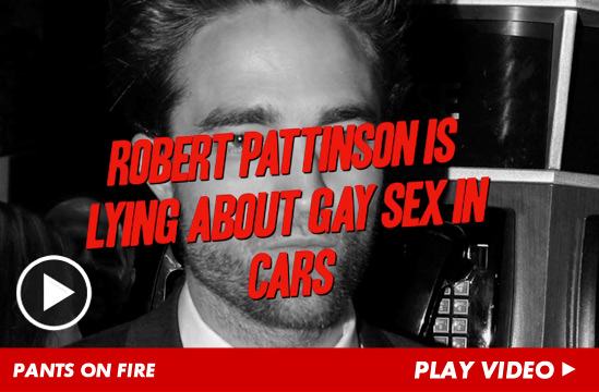 Robert Pattinson claims he saw police bust up a gay sex cruising spot in ...