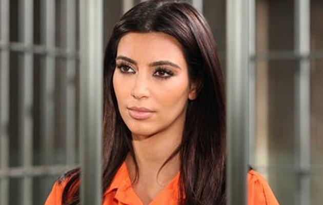 Kim Kardashian Lands Behind Bars ... For A TV Show!