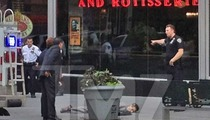 Empire State Building Shooting -- Gunman Jeffrey Johnson Shot Dead on Sidewalk [PHOTO]