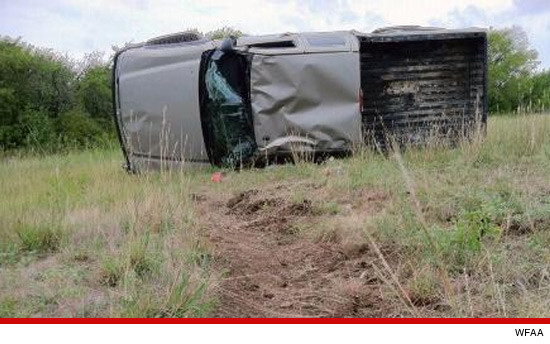 Cops Find Randy Travis' Overturned Truck