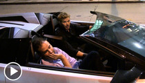 Kellan Lutz in SICK Lambo -- 'I Finally Got My Twilight Check'