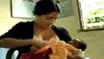 Salma Hayek -- Got Breast Milk?