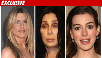 Aniston, Cher -- Alleged Victims in Credit Card Scheme