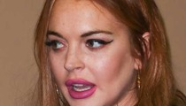 Lindsay Lohan -- Arrested in NYC for Leaving Scene of an Accident