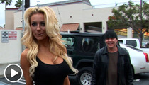 Courtney Stodden -- Celebrates 18th Bday with Porno Blowout